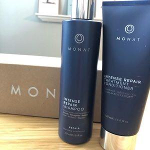 Monat Intense Repair shampoo and conditioner set